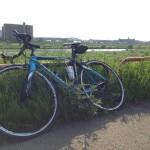 久しぶりのサイクリング