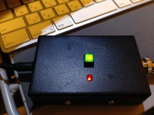 同調完了時 緑色LED点灯
