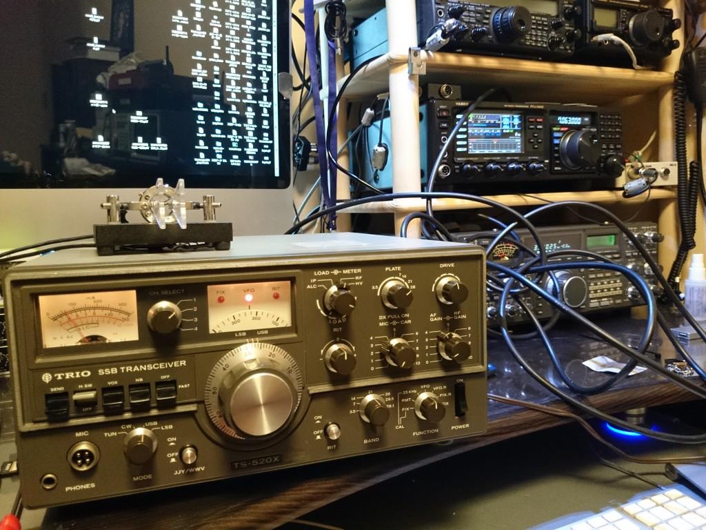 ジャンクで入手したTS-520X