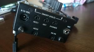 RS232C/USBはACC1経由 、MicはKenwood4極仕様