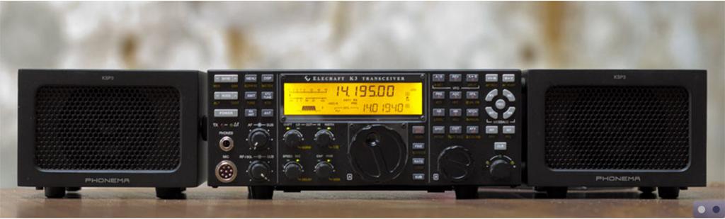 Sub受信機を積んだK3だと、こうなりますね。カッコウイイです。(メーカー・サイトより転載)