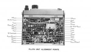 PLL側の基板レイアウト