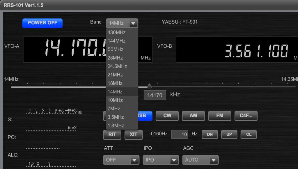 144MHz、430MHz、C4FMモードを搭載したインターフェース