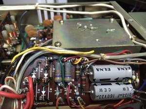 ブッリジから倍電圧へ 整流Diも全交換