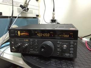 IC-820 入場中