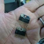 IC-R7000 修理完了【2015/10/01】