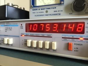 規定値より 1.65KHz  高い