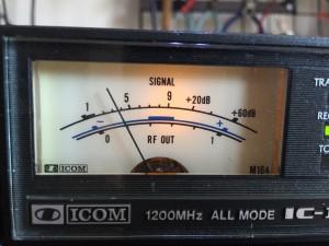 まずは粗々でS2程度の信号を入れる