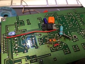 NJM2072専用の電源回路を増設