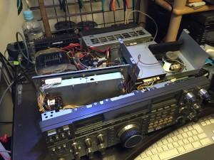 TS-940S  ロジック回路異常・PLLアンロック発生