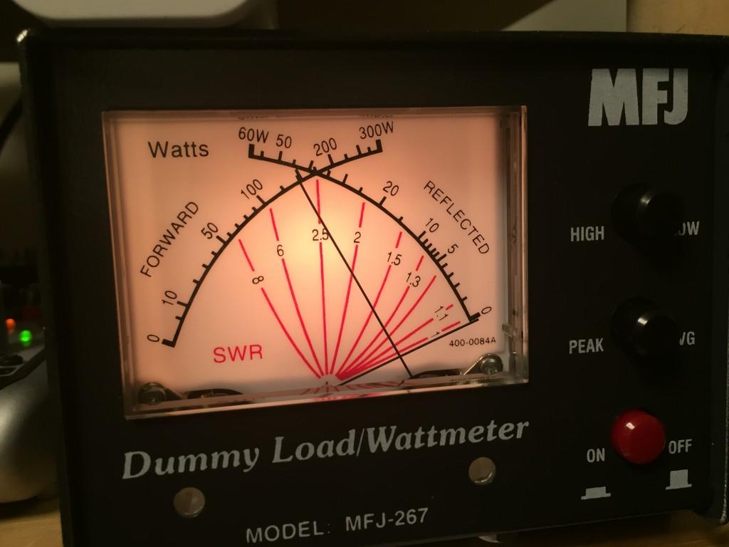 パワーは出るようになった。7MHzでは150w!!