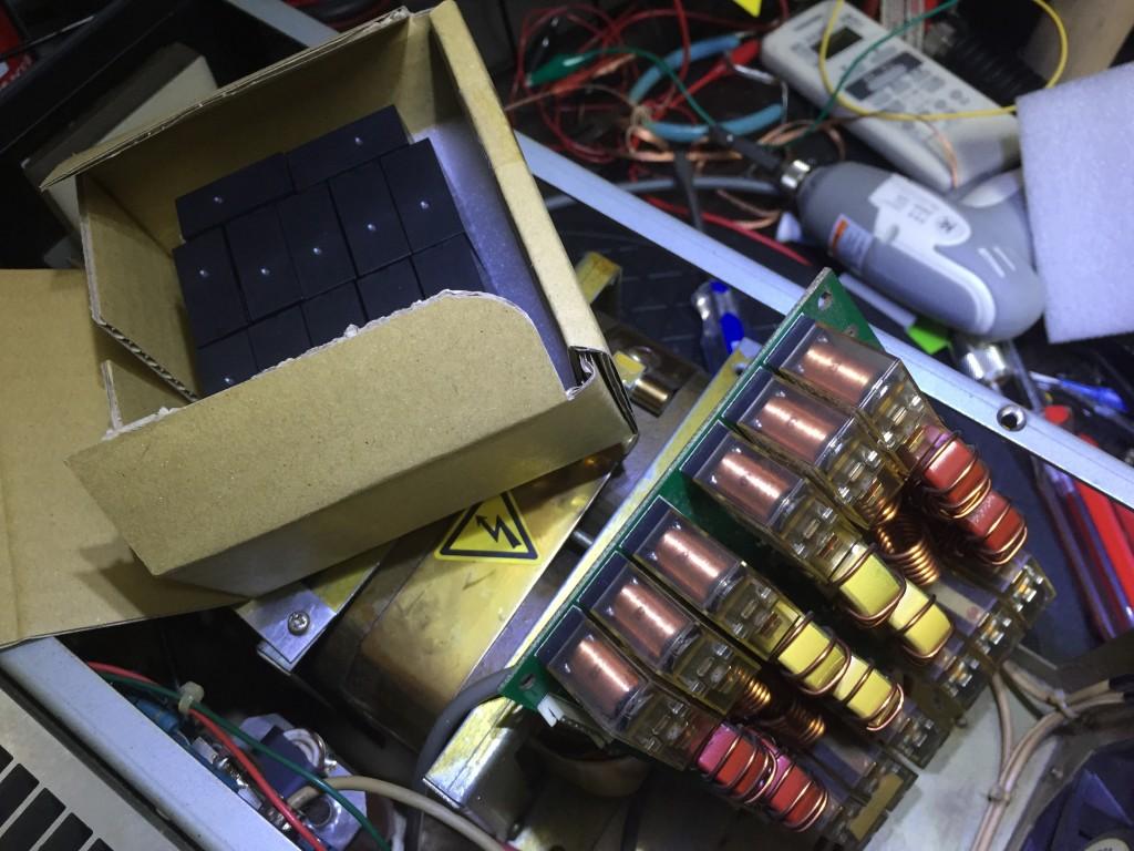 OMRON G2系 メンテナンス・フリータイプに交換