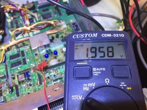 DDS Loop 電圧が大きく乖離