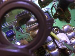 チップの抵抗内蔵トランジスタ・・これも怪しい
