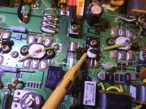 HF側の2SD1406