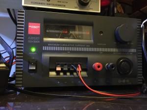 実験・修理作業用 34A電源 GSV3000