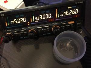 貴重なV/U3バンド機 しかし430MHz送信が・・・。