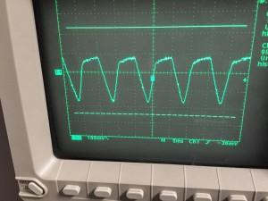6800μFパラでリプル抑制
