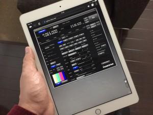 iPad ProでRRS Piに接続中 快適!!!