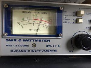 100W確認 14.1000MHz