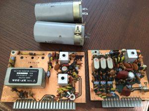 倍電圧整流部の電解コン、IFユニット、変調ユニットも全交換