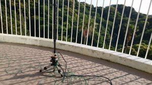 こんなアンテナでQRPでも沖縄と繋がる