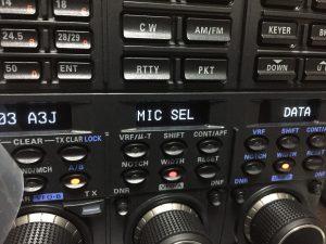 MENU 103 A3J MIC SEL