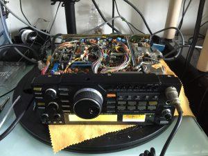 IC-375ノイズ源調査中