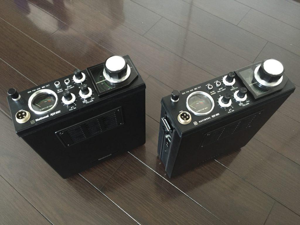 初期ロッド(左)後期ロッド(右)