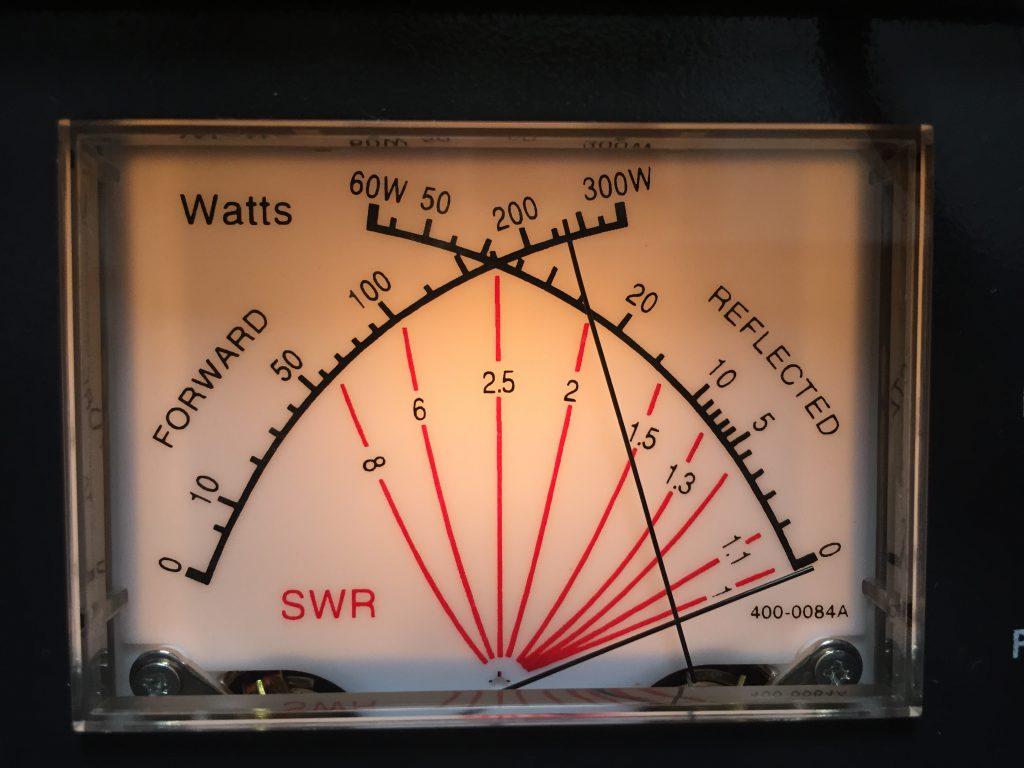 2信号で軽く250W出力中