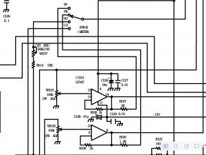 進行波、反射波の増幅回路