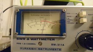 430MHz、FT817で押して80W(かなり優秀)